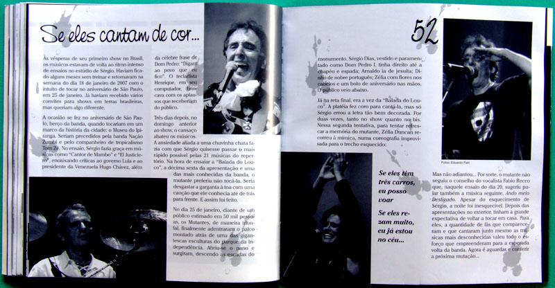 BOOK MUTANTES A VOLTA ROCK PSYCH PROG TROPICALIA BRAZIL