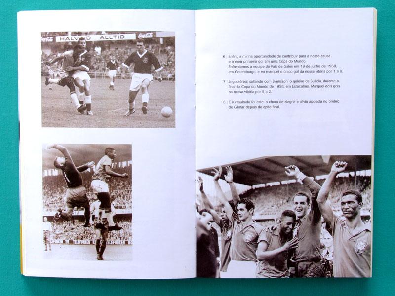 BOOK PELE A AUTOBIOGRAFIA SOCCER FUTEBOL FOOTBALL BRAZILIAN EDITION BRAZIL