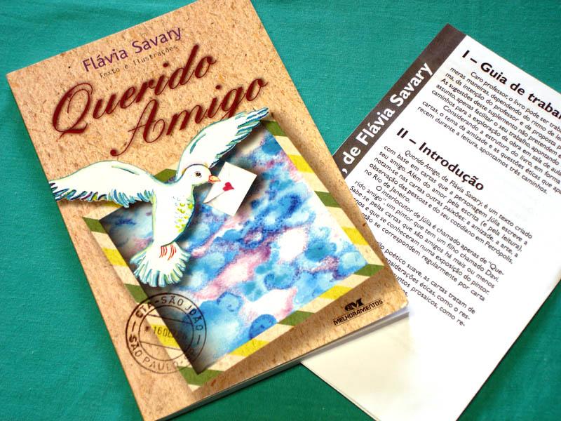 BOOK FLAVIA SAVARY QUERIDO AMIGO BRAZILIAN JUVENILE NOVEL BRAZIL