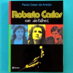 BOOK ROBERTO CARLOS EM DETALHES *CENSORED* BIOGRAPHY FOLK BEAT ROCK MUSIC BRAZIL