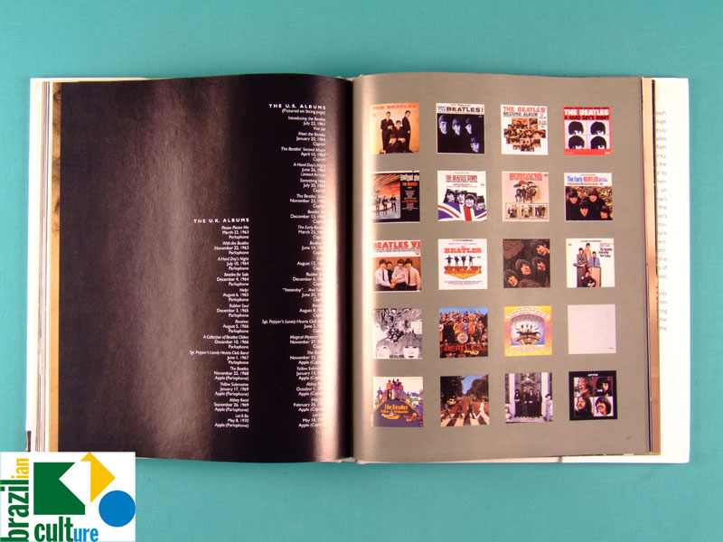 BOOK THE BEATLES FROM YESTERDAY TO TODAY 1996 DOCUMENTARY ROCK USA