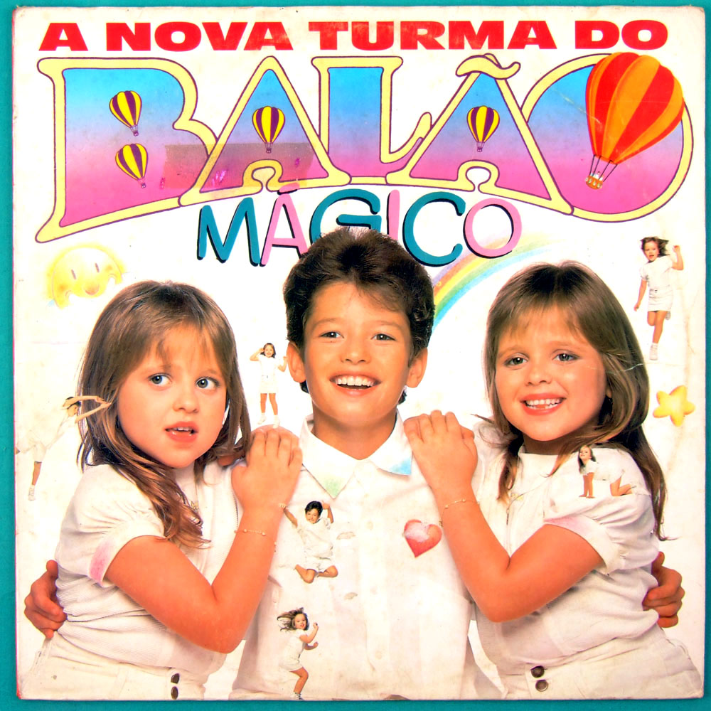 LP A NOVA TURMA DO BALAO MAGICO 1988 CHILDREN FOLK POP ROCK BRASIL