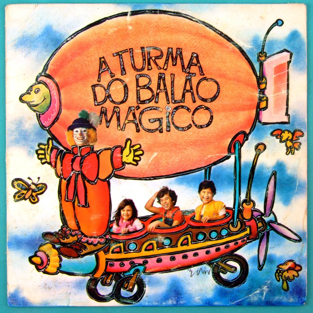 LP A TURMA DO BALAO MAGICO 1983 BABY CONSUELO ERASMO CARLOS CHILDREN BRAZIL