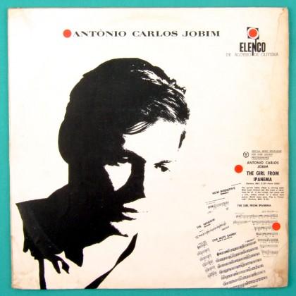 LP TOM ANTONIO CARLOS JOBIM 1963 BOSSA NOVA ELENCO JAZZ BRAZIL