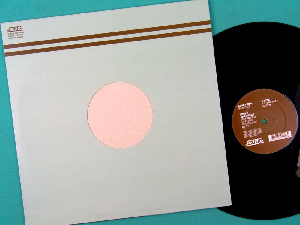 LP BLACK RIO SAMPLER SOUL DJ FUNK GROOVE BRAZIL