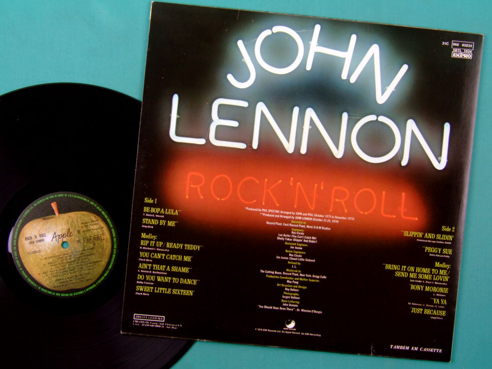 LP JOHN LENNON COLLECTION BOX SET PLASTIC ONO BAND YOKO ROCK FOLK BEATLES BRAZIL