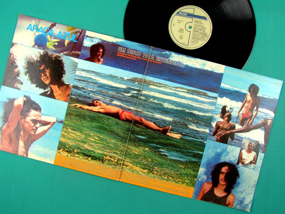 LP CAETANO VELOSO ARACA AZUL 1972 2ND EDITION DUPRAT LANNY BRAZIL
