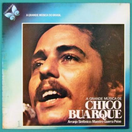 LP GUERRA PEIXE ORCHESTRA A GRANDE MUSICA DE CHICO BUARQUE 1978 BOSSA SAMBA BRAZIL