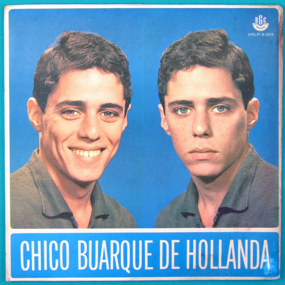 LP CHICO BUARQUE DE HOLLANDA 1966 DEBUT MONO 1ST ED BOSSA FOLK SAMBA JAZZ MELLOW BRAZIL