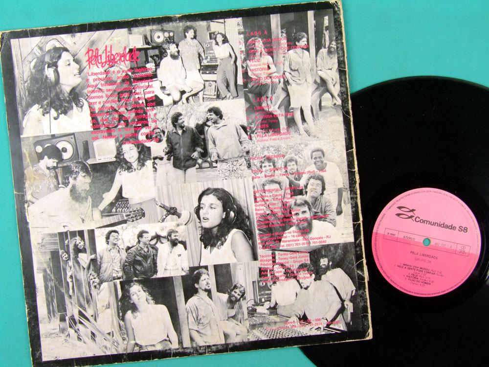 LP COMUNIDADE S8 PELA LIBERDADE 1989 FOLK PROG GOSPEL BRAZIL