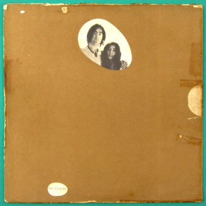 LP JOHN LENNON & YOKO ONO TWO VIRGINS  BEATLES ROCK EXPERIMENTAL USA