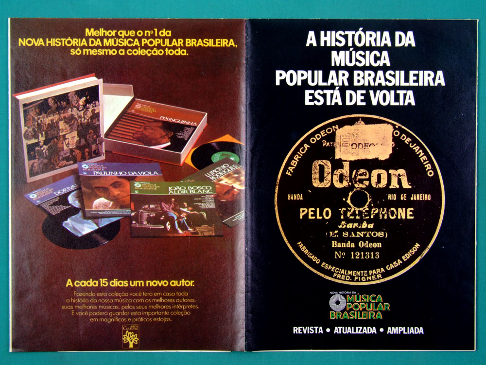 "10"" NOVA HISTORIA DA MUSICA POPULAR BRASILEIRA 5 BOXES W/ 75 ALBUMS 1977 BRAZIL"