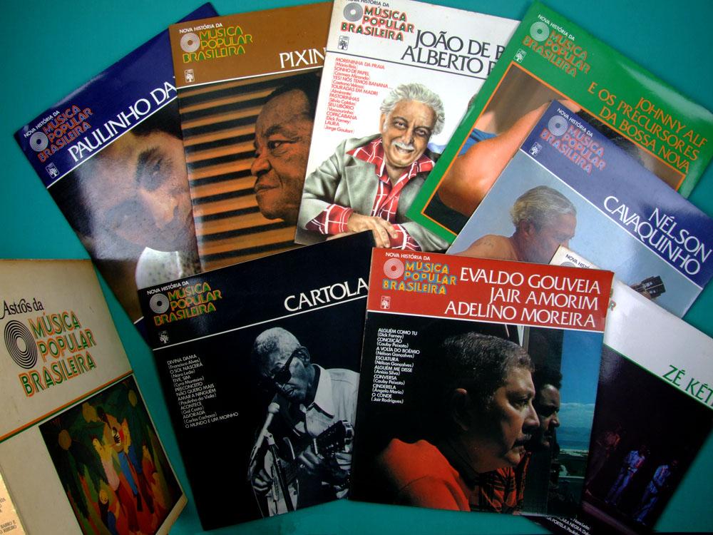 "10"" BOX ASTROS DA MUSICA POPULAR BRASILEIRA CARTOLA JOHNY ALF ZE KETI 8LP BRAZIL"