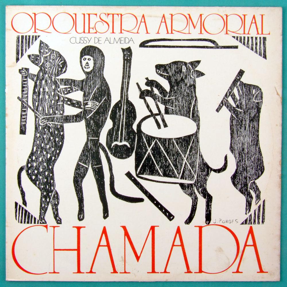 LP CUSSY DE ALMEIDA ORQUESTRA ARMORIAL CHAMADA ARIANO SUASSUNA REGIONAL NORTHEASTERN BRAZIL