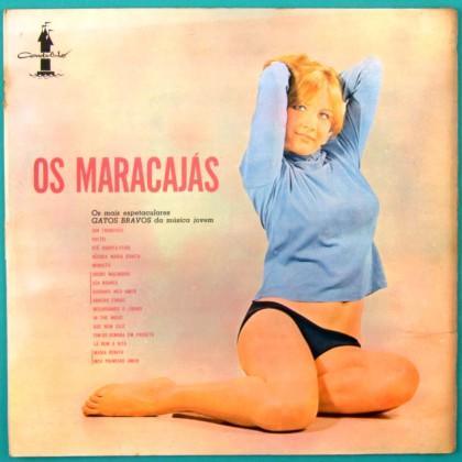 LP OS MARACAJAS GATOS BRAVOS POP BEAT MELLOW JOVEM GUARDA FOLK BRAZIL