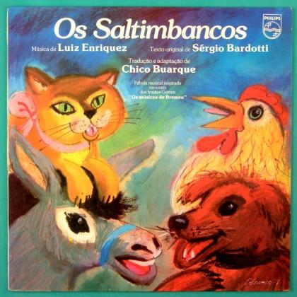 LP OS SALTIMBANCOS 1977 MIUCHA NARA LEAO RUY MAGRO CHICO BUARQUE BOSSA FOLK BRASIL