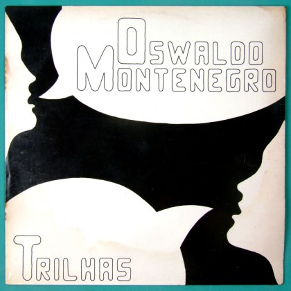LP OSWALDO MONTENEGRO TRILHAS 1977 FOLK PSYCH OST ROCK INDIE SIGNED BRAZIL
