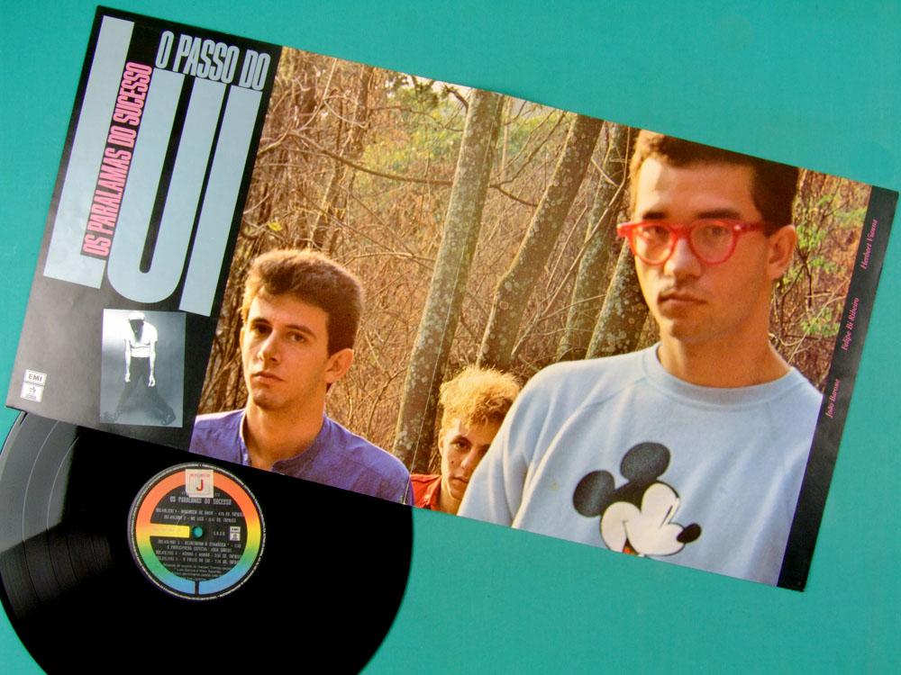 LP OS PARALAMAS DO SUCESSO O PASSO DO LUI 1985 POP ROCK SOUL PSYCH BRAZIL