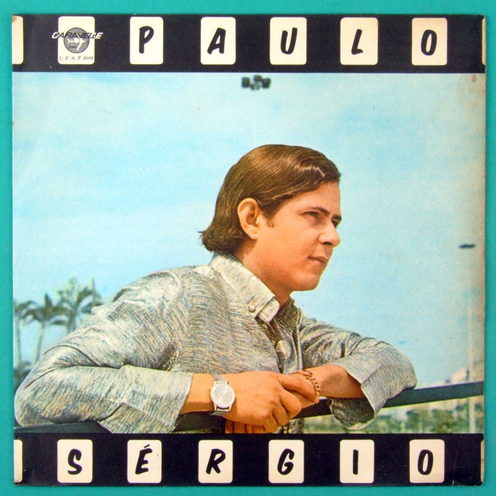 LP PAULO SERGIO 1968 DEBUT JOVEM GUARDA BEAT FOLK BRAZIL