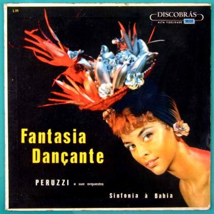 LP PERUZZI E ORQUESTRA SINFONIA A BAHIA FANTASIA DANCANTE AFRO FOLK SAMBA BRAZIL