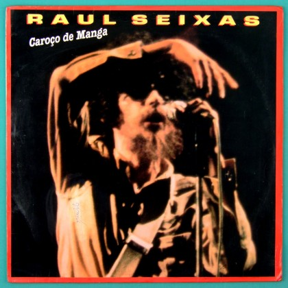 LP RAUL SEIXAS CAROCO DE MANGA ELENCO ROCK POP FOLK PYSCH CULT COUNTRY BRAZIL
