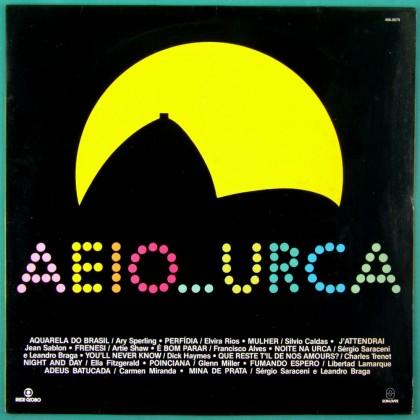 LP AEIOU... URCA 1990 OST CARMEN MIRANDA SILVIO CALDAS ELVIRA RIOS FOLK BRAZIL