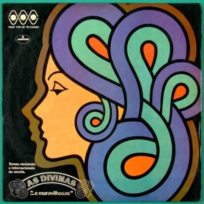 LP SOAP AS DIVINAS E MARAVILHOSAS 1973 TIM MAIA JORGE BEN NARA LEAO BRAZIL