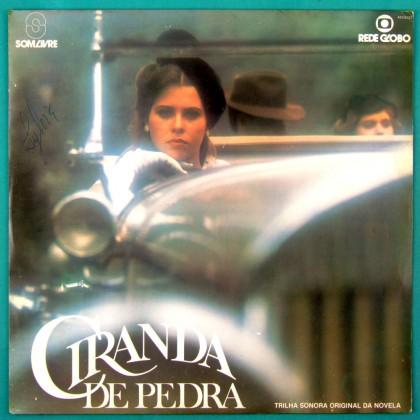 LP CIRANDA DE PEDRA 1981 SOAP GAL COSTA SANDRA SA NARA LEAO RONNIE VON FOLK BRAZIL