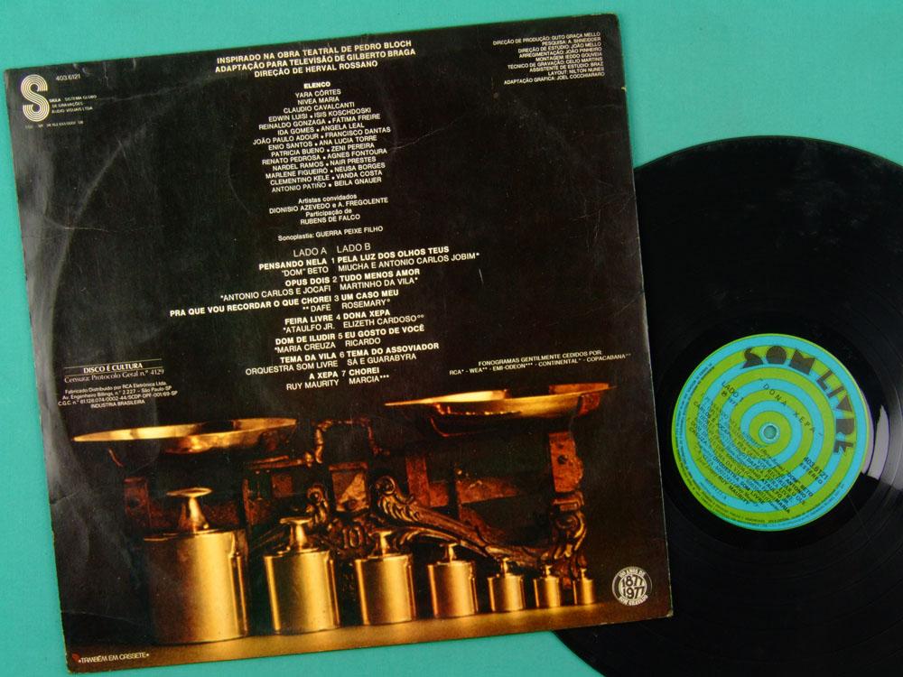 LP DONA XEPA 1977 SOAP GLOBO DON BETO DAFE JOCAFI BRAZIL
