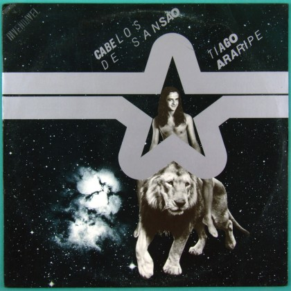 LP TIAGO ARARIPE CABELOS DE SANSAO 1982 FOLK ROCK PYSCH PAPA POLUICAO BRAZIL