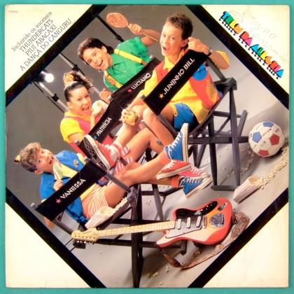 LP TREM DA ALEGRIA 1987 LULU SANTOS XUXA CHILDREN FOLK TV SERIES POP SOFT ROCK BRAZIL