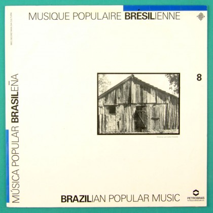LP TECA CALAZANS 1983 - MARIO 300, 350 - FUNARTE PRIVATE BRAZILIAN POPULAR MUSIC BRAZIL