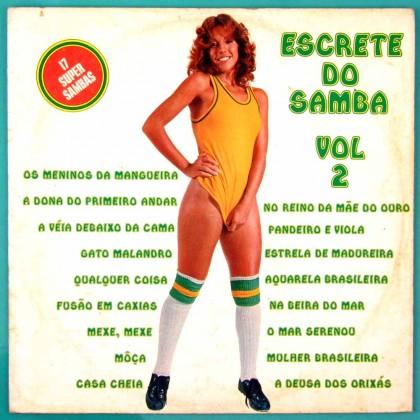 LP CONJUNTO EXPLOSAO DO SAMBA ESCRETE DO SAMBA VOL 2 1975 SEXY COVER BRAZIL