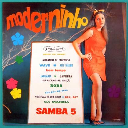 LP SAMBA 5 MODERNINHO MELLOW CHORO BOSSA JAZZ INSTRUMENTAL FOLK MEIRELLES BRAZIL