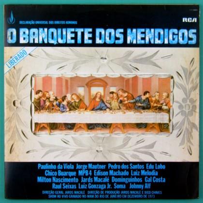 LP O BANQUETE DOS MENDIGOS 1973 MILTON MACALE MAUTNER GAL COSTA EDU LOBO SOMA BRAZIL