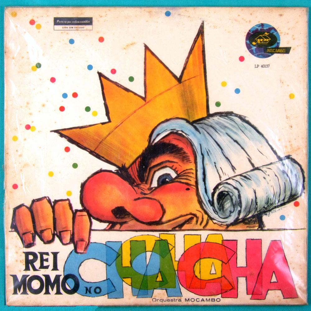 LP ORQUESTRA MOCAMBO REI MOMO NO CHA-CHA-CHA SAMBA CARNIVAL BOSSA FOLK DJ BRAZIL