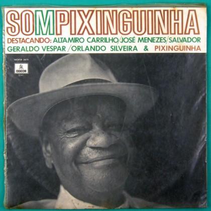 LP SOM PIXINGUINHA 1971 GERALDO VESPAR SAMBA CHORO BRAZIL