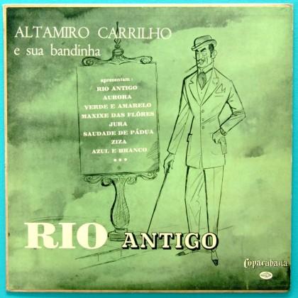 """10"""" ALTAMIRO CARRILHO RIO ANTIGO SAMBA FLUTE 1961 BRAZIL"""