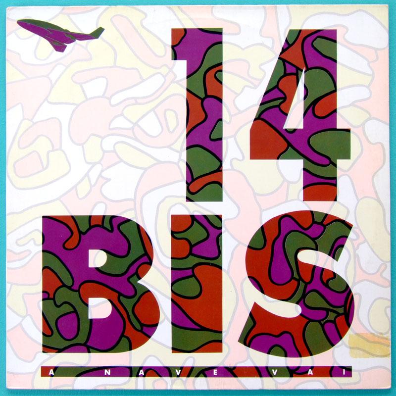 LP 14 BIS A NAVE VAI 1985 MINAS ROCK PROG FOLK BRAZIL