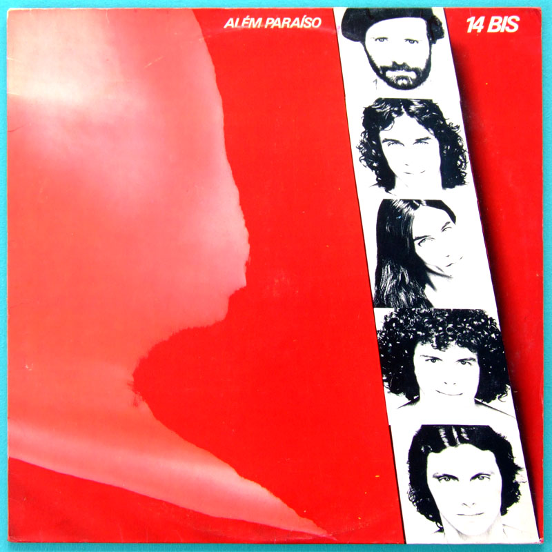 LP 14 BIS ALEM PARAISO 1982 MINAS ROCK PROG FOLK BRAZIL