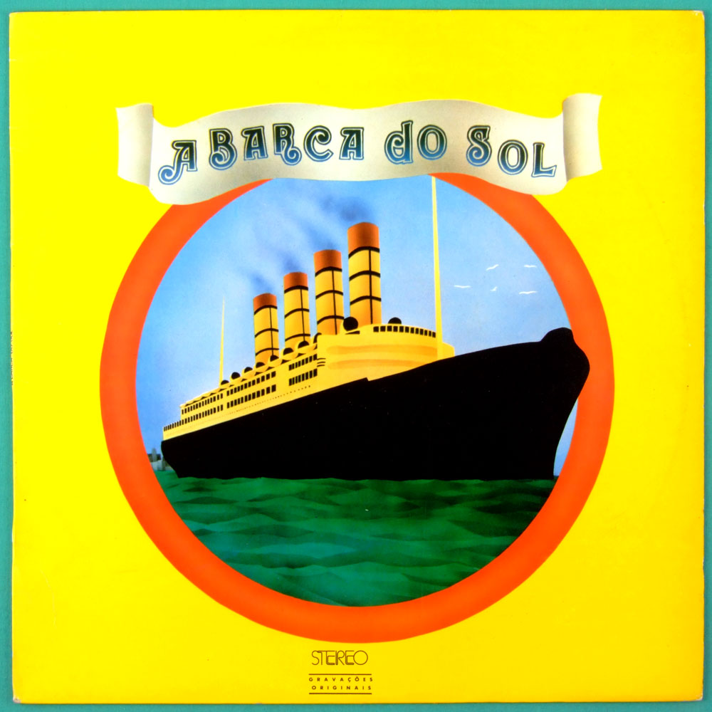 LP A BARCA DO SOL 1974 2ND ED. GISMONTI FOLK PROG JAZZ BRAZIL