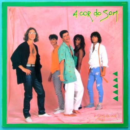LP A COR DO SOM O SOM DA COR  FOLK ROCK REGIONAL BRAZIL