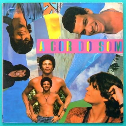 LP A COR DO SOM GOSTO DO PRAZER 1987 ROCK REGIONAL BRAZIL