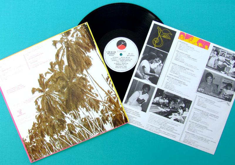 LP A COR DO SOM INTUICAO 1984 EGBERTO GISMONTI FUSION INSTRUMENTAL JAZZ BRAZIL