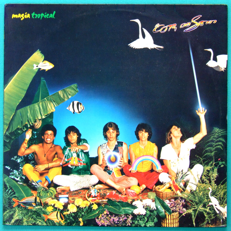 LP A COR DO SOM MAGIA TROPICAL 1982 ROCK FOLK REGIONAL BRAZIL