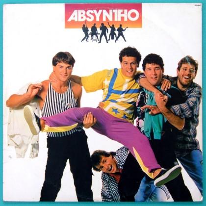 LP ABSYNTHO 1985 BLAU-BLAU  HUMOUR FOLK POP ROCK BRAZIL