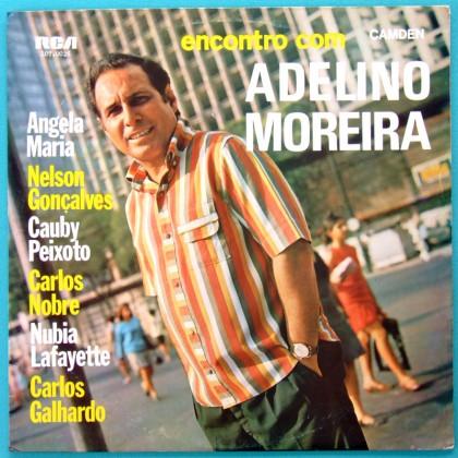 LP ADELINO MOREIRA ENCONTRO COM ANGELA MARIA 1967 BRAZIL