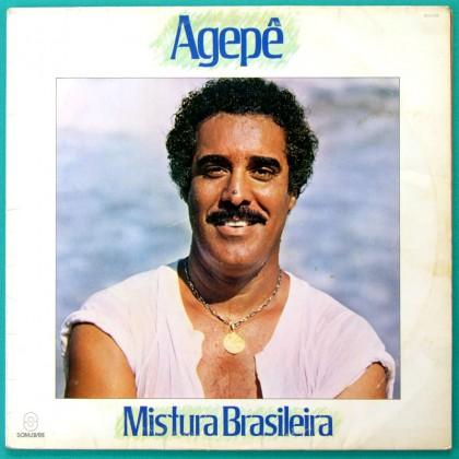 LP AGEPE MISTURA BRASILEIRA 1984 SAMBA RILDO HORA BRAZIL