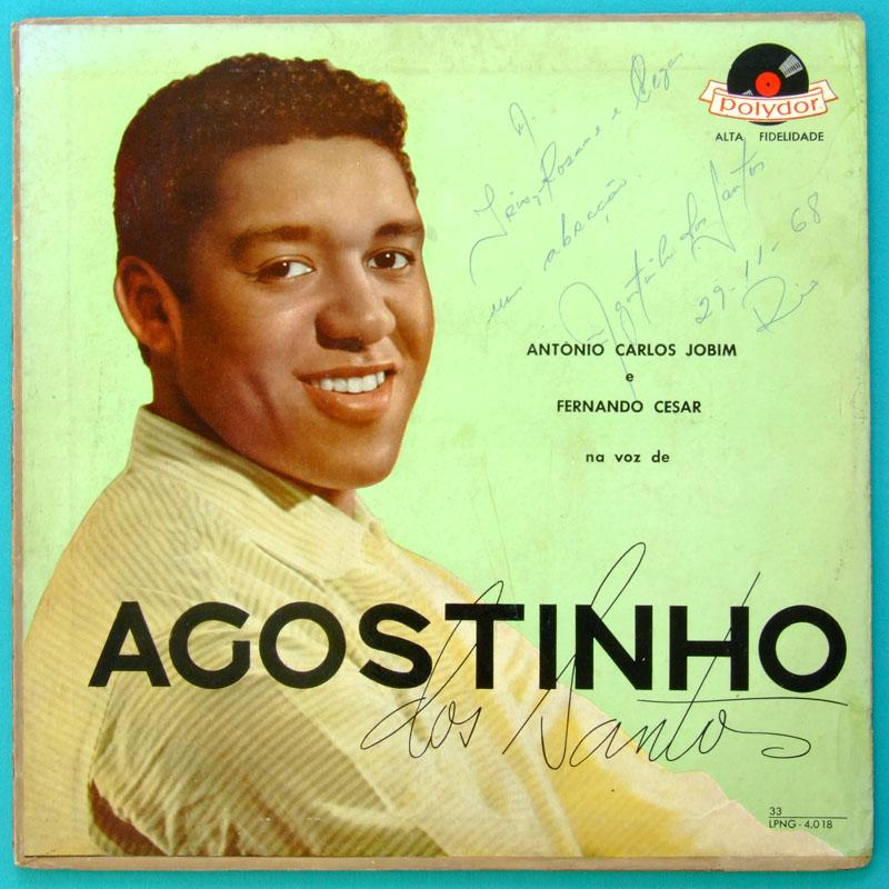 LP AGOSTINHO DOS SANTOS TOM JOBIM BOSSA SAMBA 1958 BRAZIL