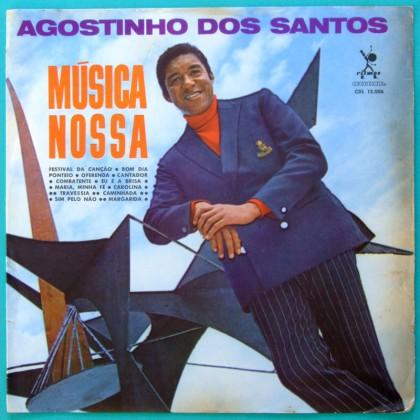 LP AGOSTINHO DOS SANTOS MUSICA NOSSA BOSSA SAMBA BRAZIL